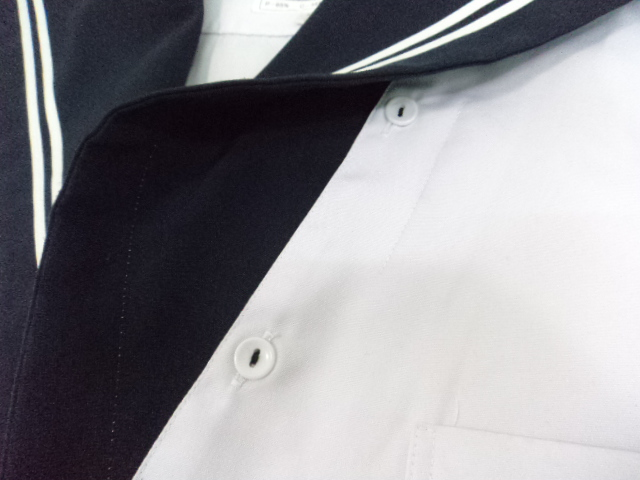 o48/中学校・高校■セーラー服 170A 半袖上着のみ/og0409【3PEF】
