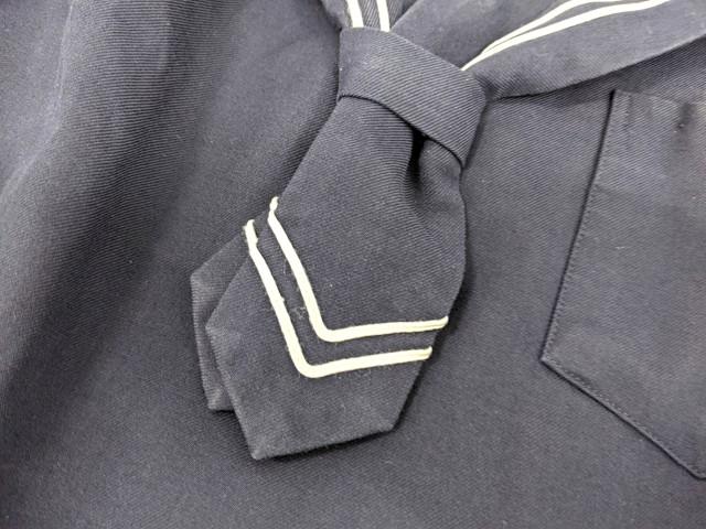 j26 中学校?? 高校?? ネクタイ付き冬服セーラー服+冬服スカート/yt2591【15XJD】