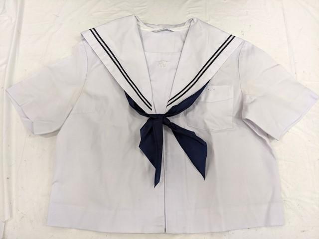 j26 中学校?? 高校?? 夏服セーラー服+夏服スカート+スカーフ/yt2592【45HD】