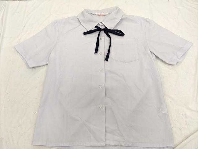 j26 中学校?? 高校?? 半袖シャツ+ジャンパースカート+ループタイ/yt2593【7XDK】