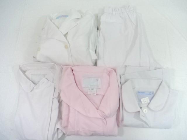 T328 ナース服 看護服 ナガイレーベン シャツ+パンツ+ワンピース サイズM/yt0585【25CB】