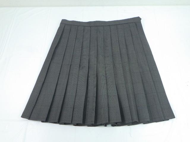 d32 茨城県立日立商業高校 ベストジャケット+冬服スカート/yt2005【8VKF】