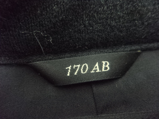 e17/中学校・高校■男子学生服 学ラン制服 上着のみ 170AB/og0166【35VB】