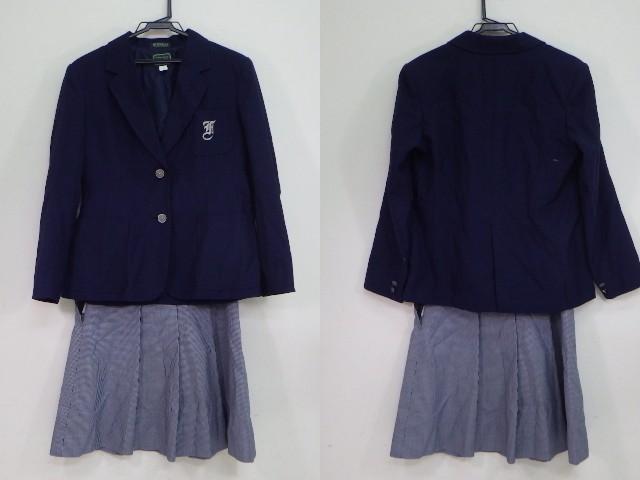 x33 中学校?? 高校?? ブレザーMサイズ+冬スカート/yt1111【25EG】