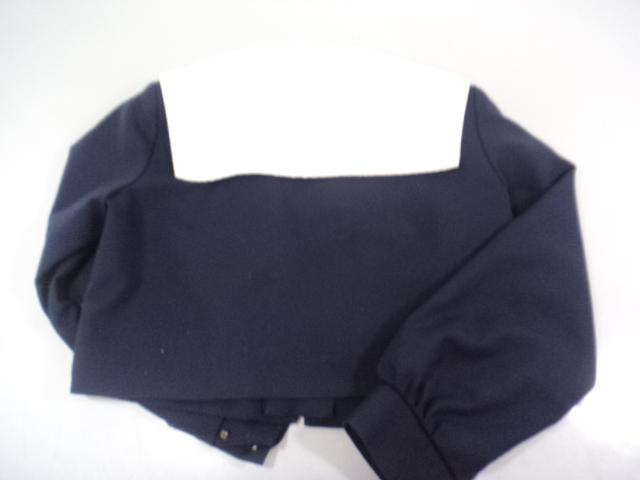 d70 名古屋市立高針台中学校 セーラー服170A+スカーフ/yt0222【4GHN】