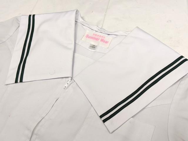 W64 高森台中学校 夏服セーラー服+夏服スカート/yt2199【1CKHG】