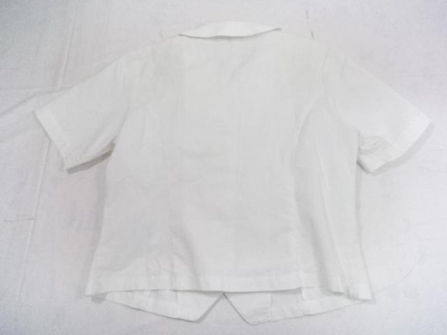 A37/愛知高校・愛知高等学校■夏服 半袖シャツ上着のみ Lサイズ/og0381【】