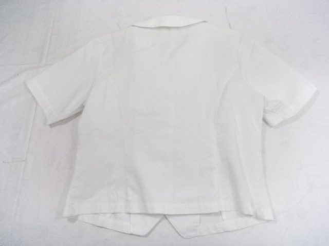 A37/愛知高校・愛知高等学校■夏服 半袖シャツ上着のみ Lサイズ/og0381【1ERR】