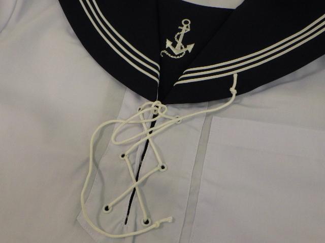 x99 双葉学園高校制服 夏服レプリカ セーラー服+スカート/yt1206【1EGTR】