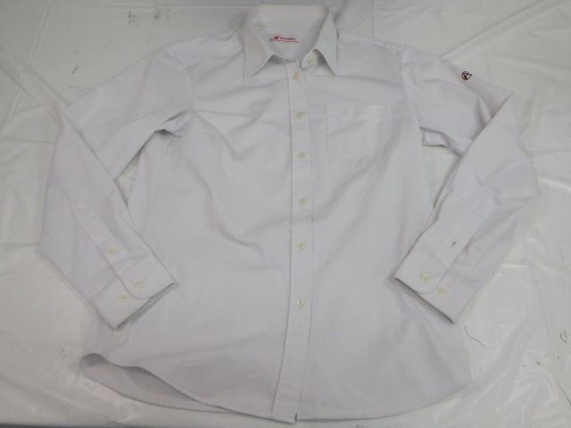 P58 名古屋商業高校 ブレザー165A+長袖シャツ+冬服スカート+リボン/yt1424【8ALO】