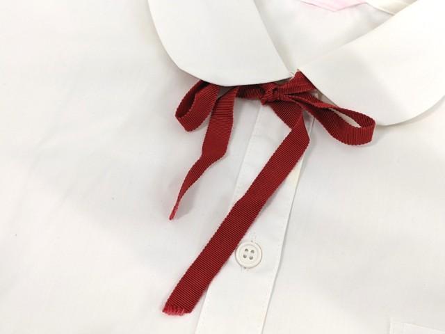 X29 聖霊中学校 夏服セーラー服+半袖・長袖シャツ+ループタイ/yt2306【6CMF】