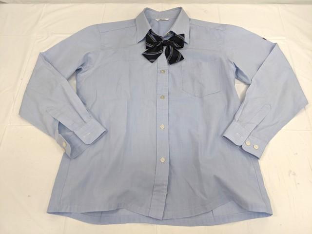 g34 不二女子高校 ブレザー+長袖シャツ+冬服スカート+リボン/yt2307【27XHG】