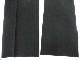 X93/浜松市立湖東中学校■男子学生服 学ラン夏ズボンのみ W76 黒/og0002
