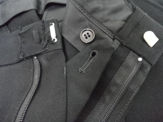 X93/浜松市立湖東中学校■男子学生服 学ラン冬ズボンのみ W85? 黒/og0003
