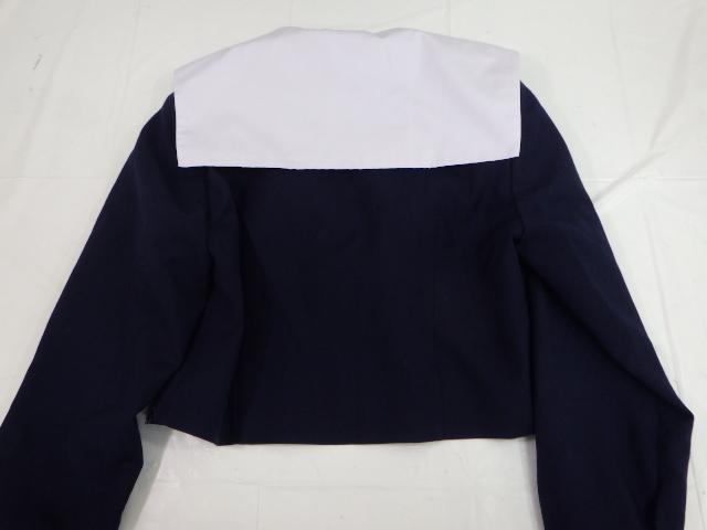 P50 愛知県 菊里高校 冬服・夏服セーラー服+スカート+ループタイ/yt1432【2AEGP】