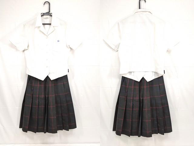 W59 豊田東高校 夏服セーラー服+夏服スカート/yt2208【5KWG】