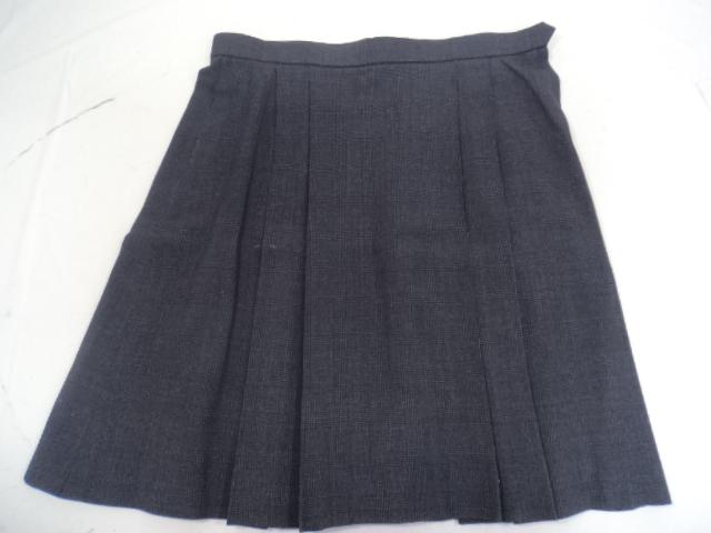 E34 名古屋市立緑高校 半袖ブラウス Mサイズ+夏服スカートW75cm/yt0686【27ZA】