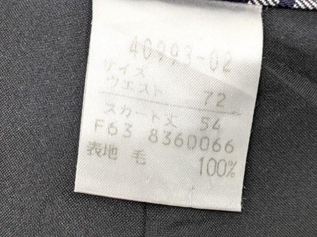 h23 私立流通経済大学附属柏高校 ブレザー+長袖シャツ+冬服スカート/yt2412【18BEW】
