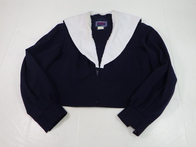 R94 愛知県立瑞陵高校 冬服セーラー服+冬服スカート/yt1923【9AFX】