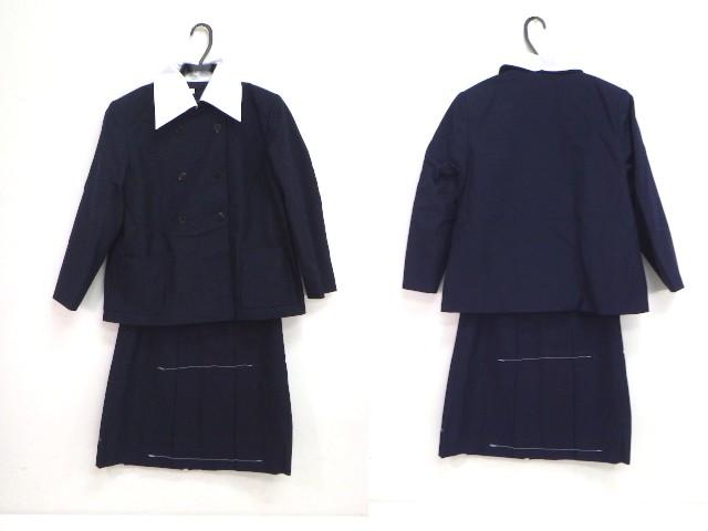 k151 中学校?? 高校?? ブレザー LLサイズ+冬スカート/yt1330【5SGD】