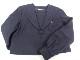 b48 中学校 高校 校章付セーラー服165A+スカート+スカーフなど3点/yt0146【7LKG】
