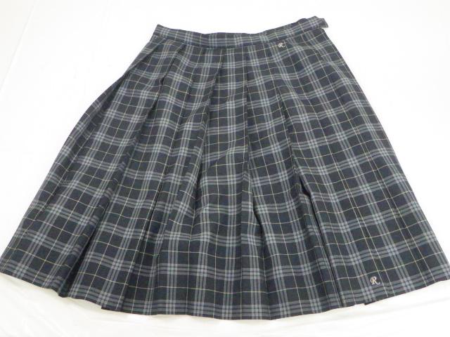 a39 京都 洛水高校 セーター+夏服スカート/yt1545【6DPE】