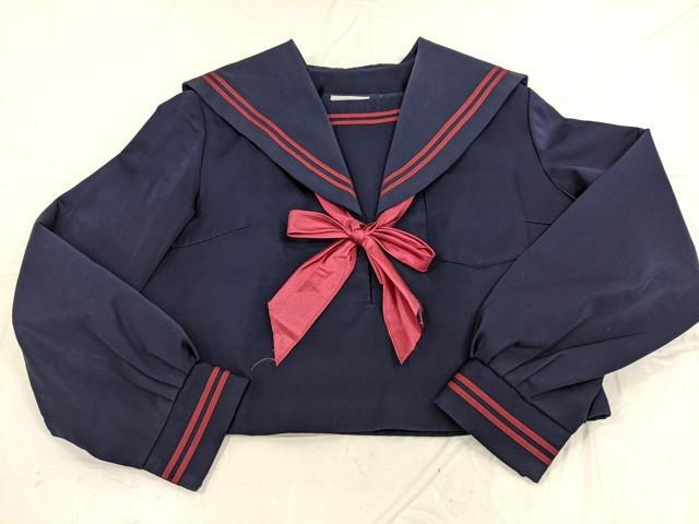 j75 冬服セーラー服+冬服スカート+スカーフ/yt2622【8DLS】