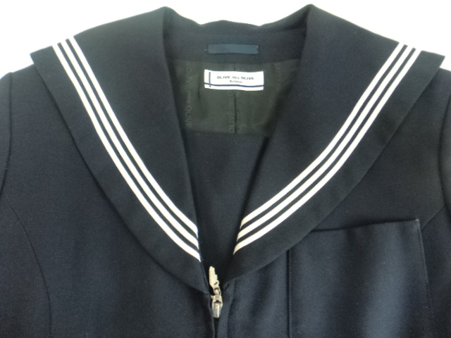 d99/中学校・高等学校■オリーブデオリーブ セーラー服 165A 上着のみ2点/og0177【7URF】
