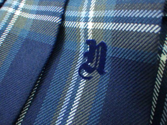 U44 愛知県立南陽高校 ブレザー+長袖シャツ+冬服スカート+リボン/yt2036【2NESA】