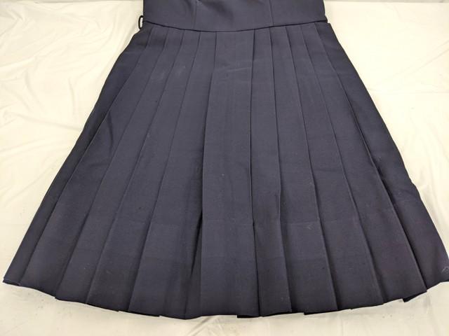 j66 鹿児島市立和田中学校 冬服セーラー服+ジャンパースカート+スカーフ/y2626【1JWDC】