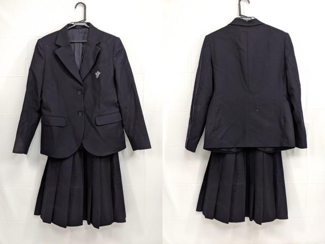 h31 京都西山高校 ブレザー+冬服スカート/yt2429【9EKV】