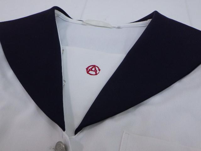 P59 愛知県 名古屋商業高校 夏服セーラー服+カーデガン/yt1453【9AKE】