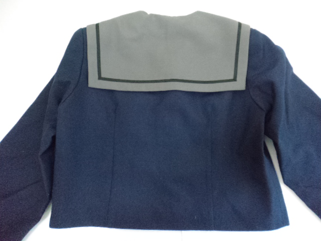 Y03 岩手 北上市立上野中学校 冬服 セーラー服170A スカート/yt0113