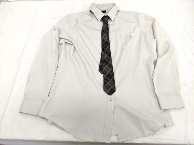 f87 安田学園高校 ブレザー+カーデガン+長袖シャツ+冬服スカート+ネクタイ/yt2230【29kXV】