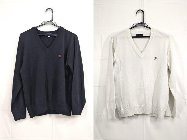 f91 関東国際高校 セーター×2点セット サイズLL/yt2231【7DSG】