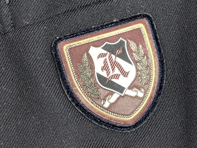 X69 神丘中学校 ブレザー+半袖・長袖シャツ+夏服・冬服スカート+リボン/yt2333【7XKV】