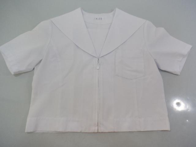 Y51 愛知県 長久手南中学校 夏服セーラー服 夏スカート/yt0101