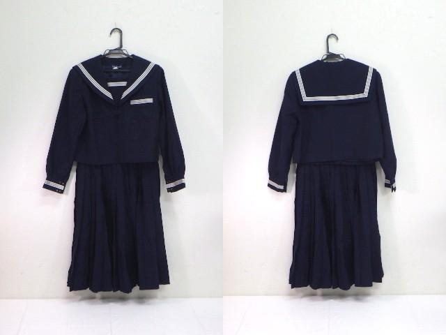 a03 泉中学校 冬服セーラー服+冬服スカート/yt1945【3VJR】