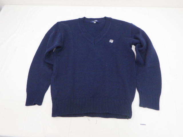 e32 挟山経済高校 ブレザー160+長袖シャツ+セーター+冬服スカート/yt2058【9AHF】