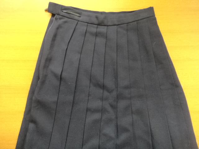 h96 中学校? 高校? 冬服上下セット ブレザー+スカート+ベスト/yt0359