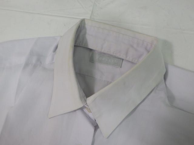 a03 中学校?? 高校?? 長袖シャツ+サスペンダー付きスカート/yt1949【4LOR】
