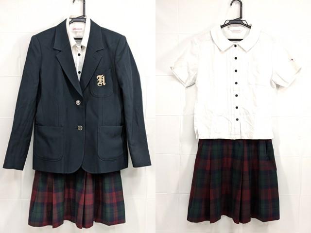 h31 中学校?? 高校?? ブレザー+半袖・長袖シャツ+夏服スカート/yt2439【9HEF】