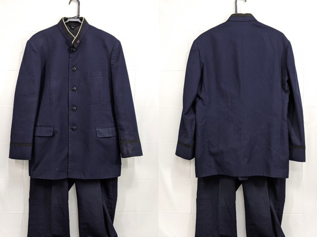 h28 氷取沢高校 学ラン180A+夏服・冬服ズボン/yt2440【15XJD】