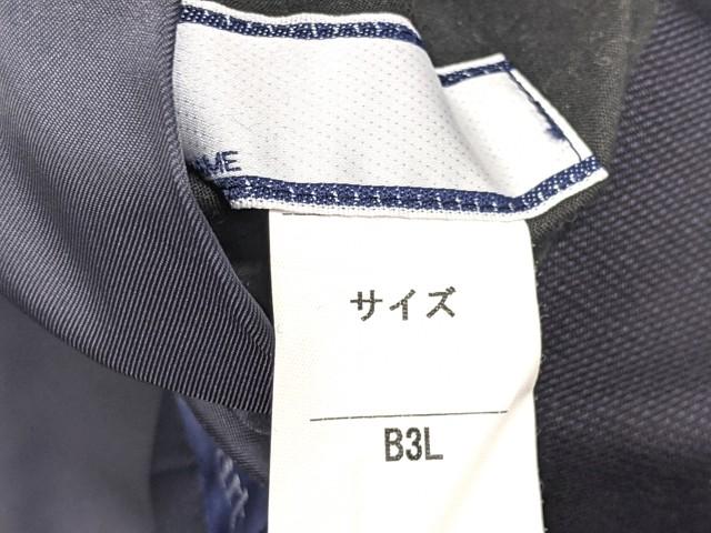 W76 愛知県立大府東高校 ブレザー+半袖・長袖シャツ+冬服スカート+リボン/yt2238【25XLD】