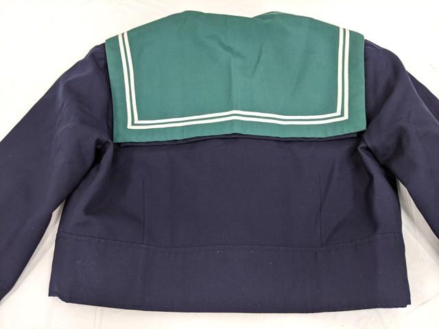 h30 八尾東高校 冬服・夏服セーラー服+冬服スカート+スカーフ/yt2441【3XJRG】