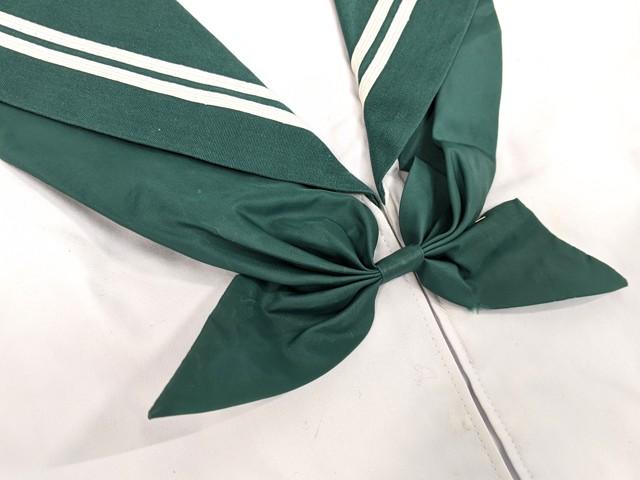 h30 八尾東高校 夏服セーラー服+夏服スカート+スカーフ/ytyt2442【25CLG】