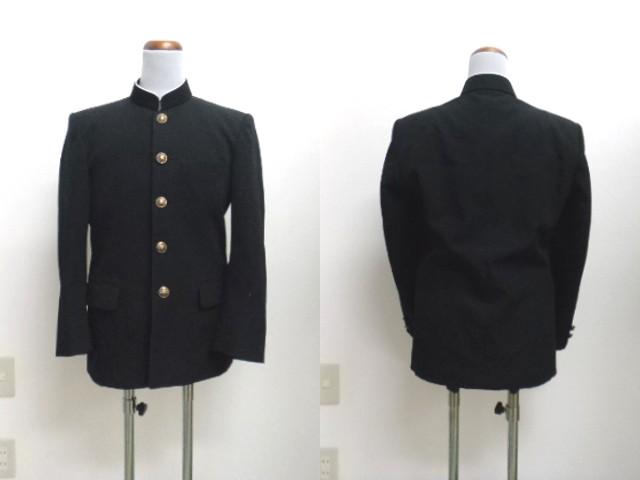 e70/中学校・高校■男子学生服 学ラン上着のみ 160A/og0219【3PQS】