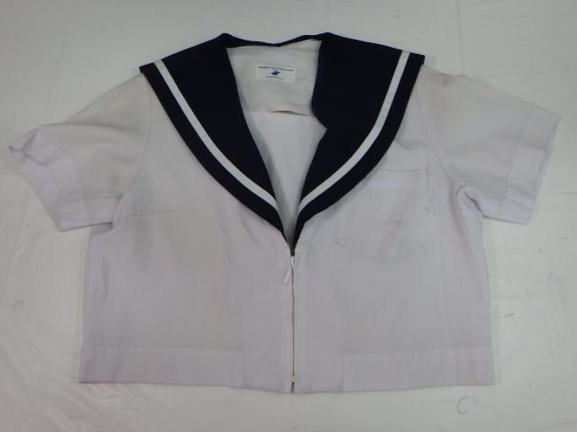 N28 愛知県 日進東中学校 夏セーラー服+夏スカート/yt1257【4OEY】