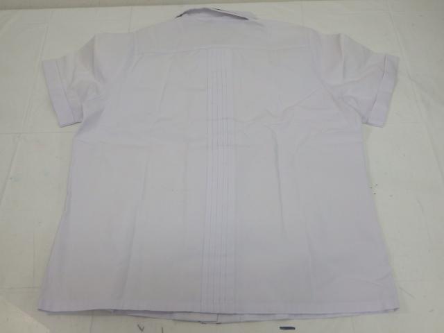 e44 中学校?? 高校?? ブレザー+半袖シャツ+冬服スカート 大きいサイズ!!/yt2065【8KGF】