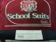T614 北海道 函館的場中学校 ブレザー+冬 チェックスカート/yt1363【6FER】